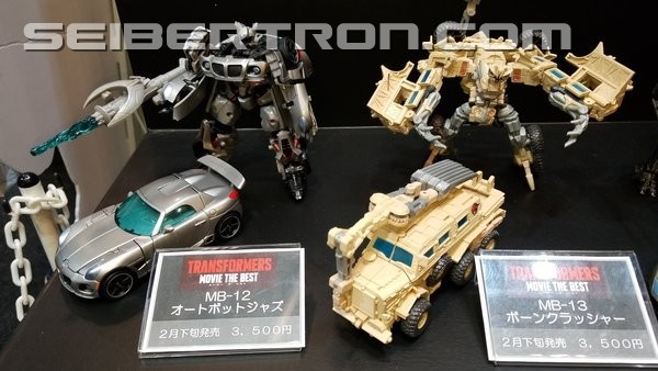 Transformers News: Wonderfest 2018 - Takara Tomy Transformers Movie The Best #wf2018w #ワンフェス2018冬