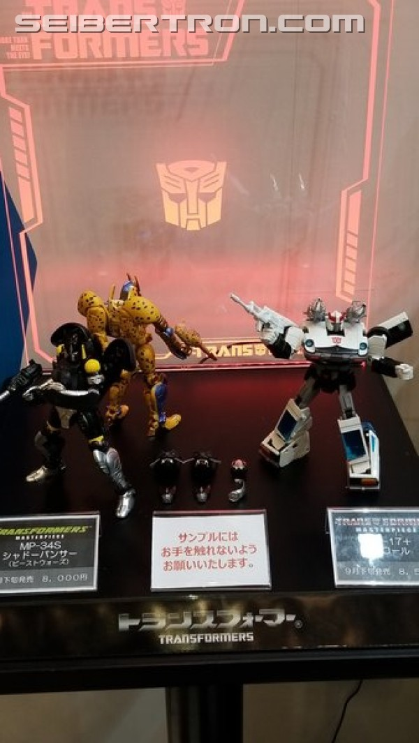Transformers News: Wonderfest 2018 - MP Dinobot, Shadow Panther, Anime Prowl and More on Display #wf2018w