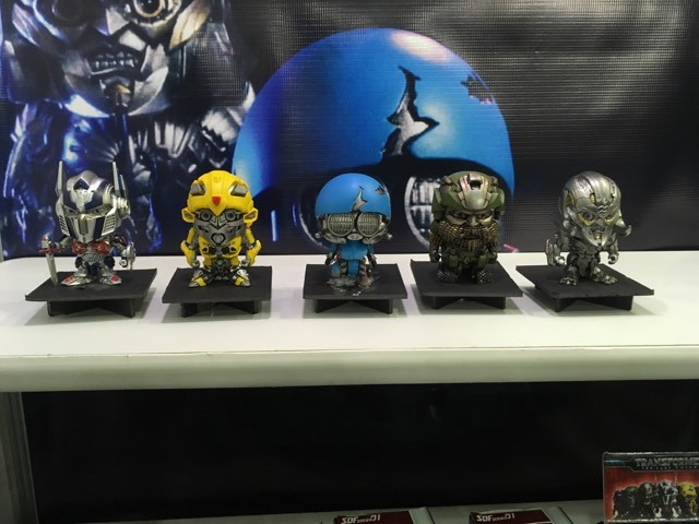 Transformers News: Toy Fair 2018 -  Whatnot Toys Transformers Super Deformed TLK Figures #HasbroToyFair #NYTF