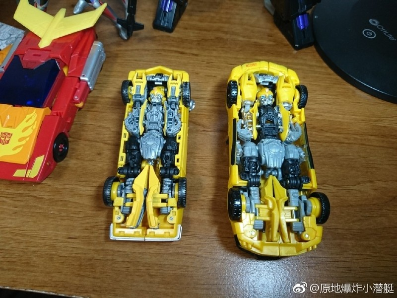 Transformers News: In-Hand Images and Comparisons of Transformers Studio Series Ratchet, Stinger, Bumblebee, Crowbar