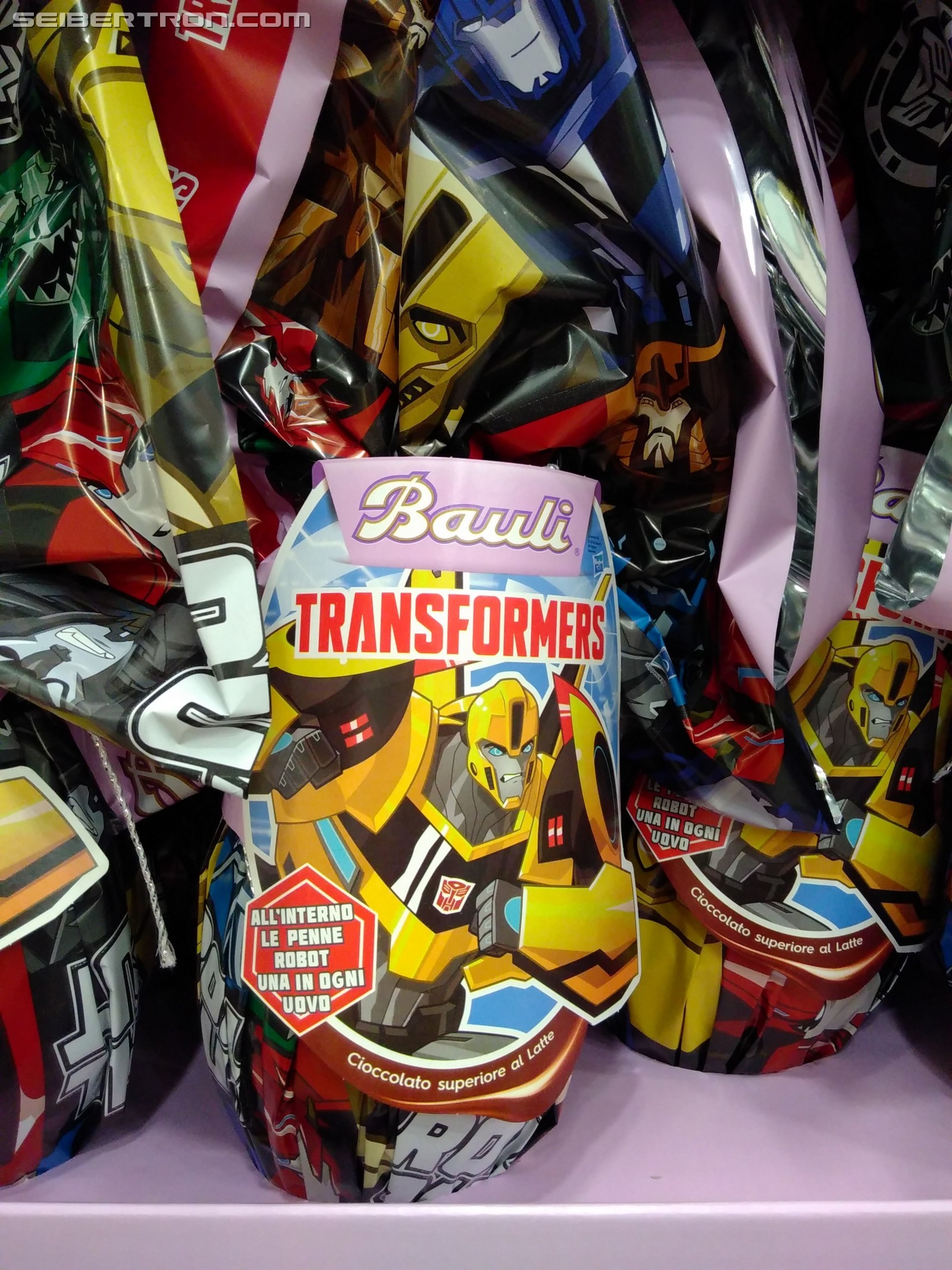 Transformers News: Transformers: Robots in Disguise Italian Surprise Easter Eggs Revealed for 2018
