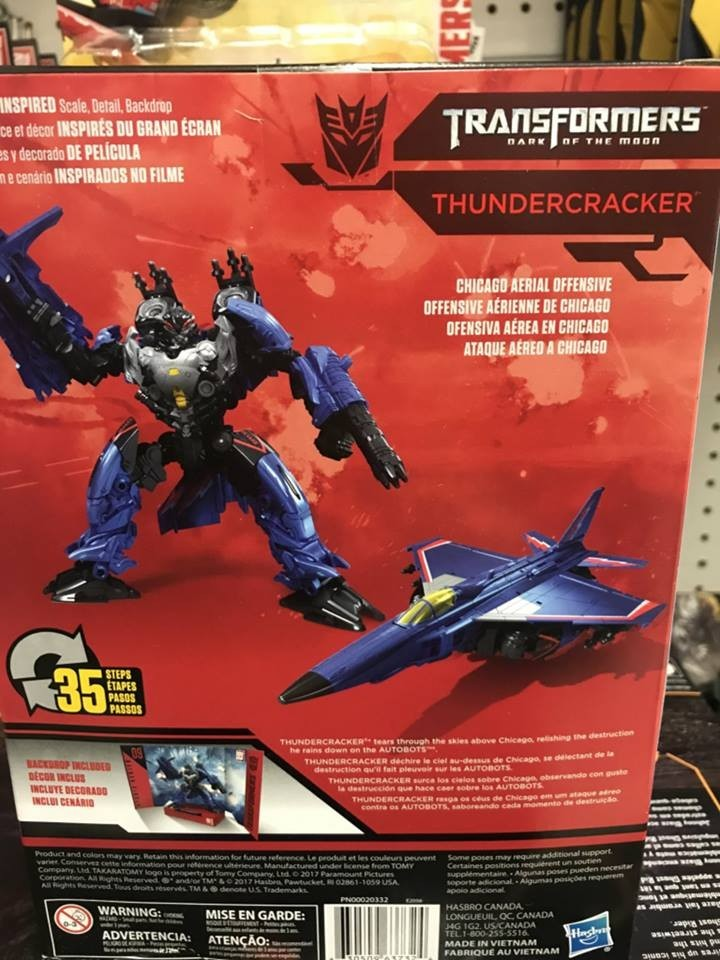 Transformers News: Transformers Studio Series ToysRUs Exclusive Thundercracker Revealed!