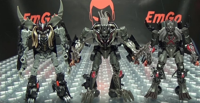 Transformers News: Video Reviews of all Transformers Studio Series Wave 1 Deluxe Toys