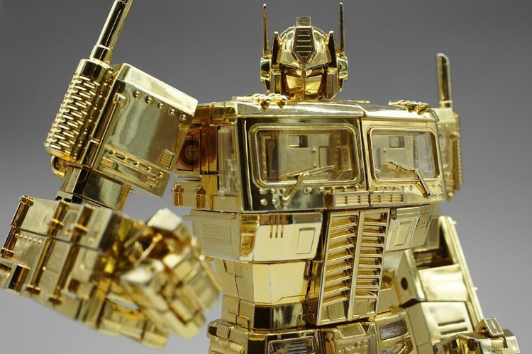 Transformers News: New Listings for Takara Tomy Masterpiece MP-10 Convoy / Optimus Prime Golden Version