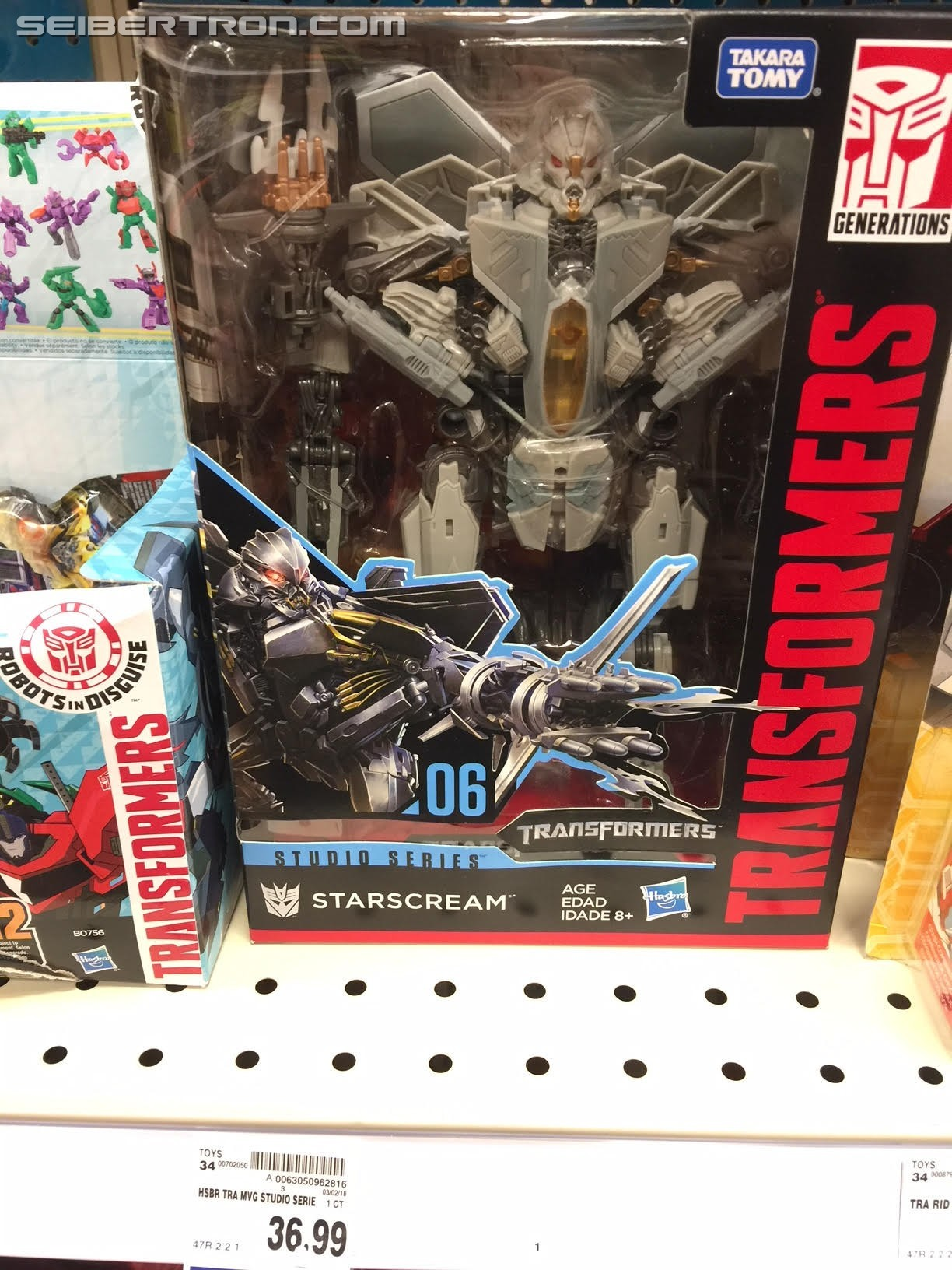 Transformers News: Voyager Optimus Prime and Starscream from Transformers Studio Series Found at US Retail