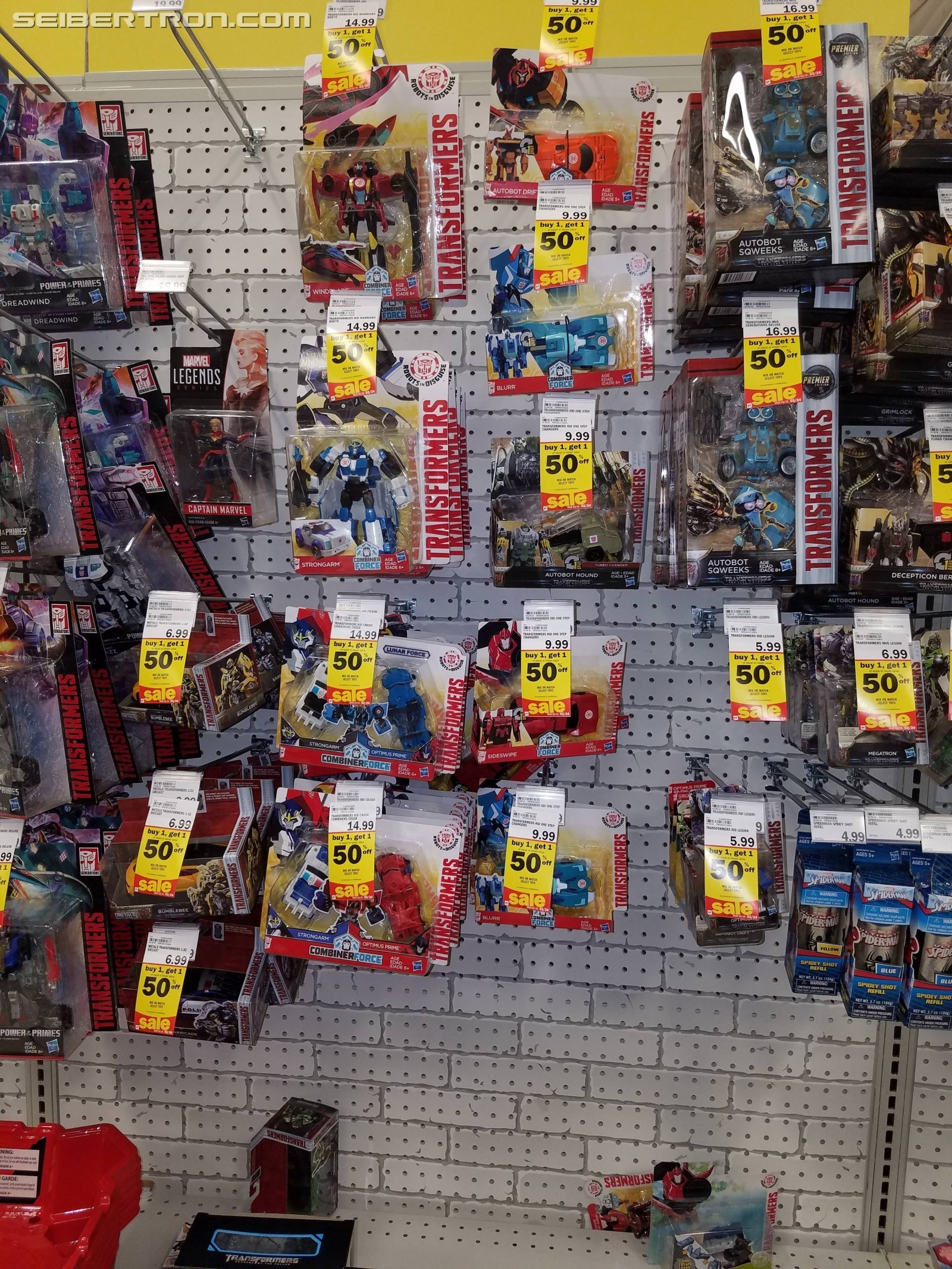 Transformers News: Meijer Buy One  Get One 50% Sale on Transformers This Week