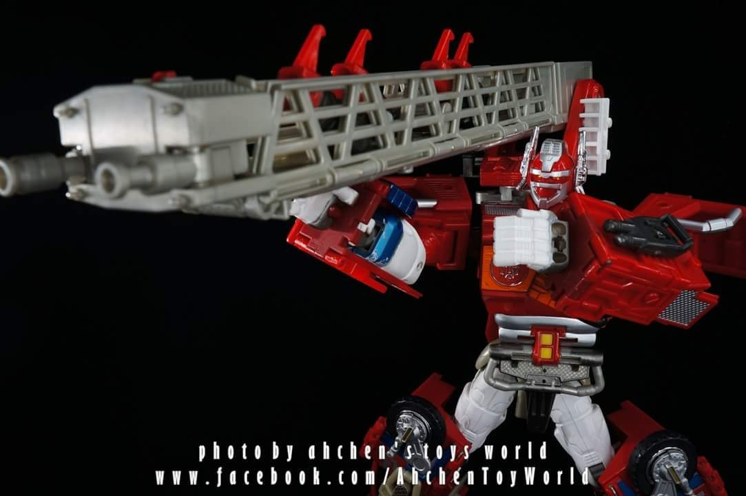 Transformers News: In-Hand Images of Takara Tomy Transformers Encore God Fire Convoy
