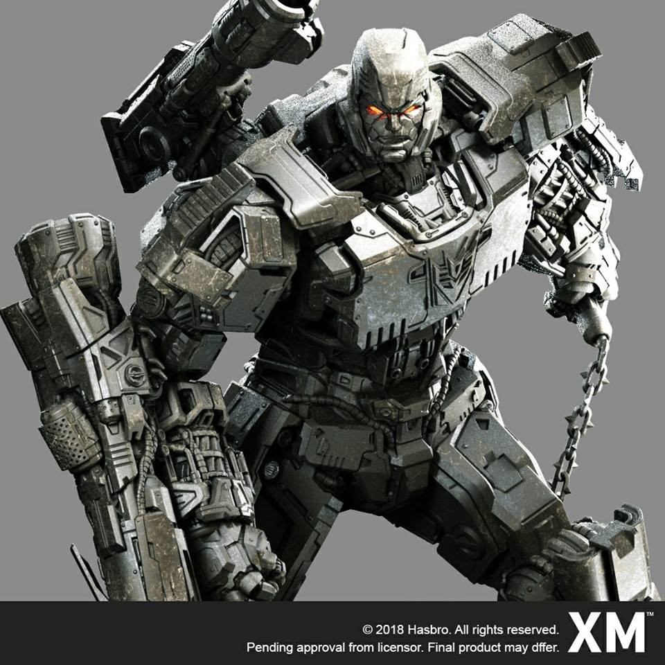 Transformers News: XM Studios 1/10 Scale Megatron Coming