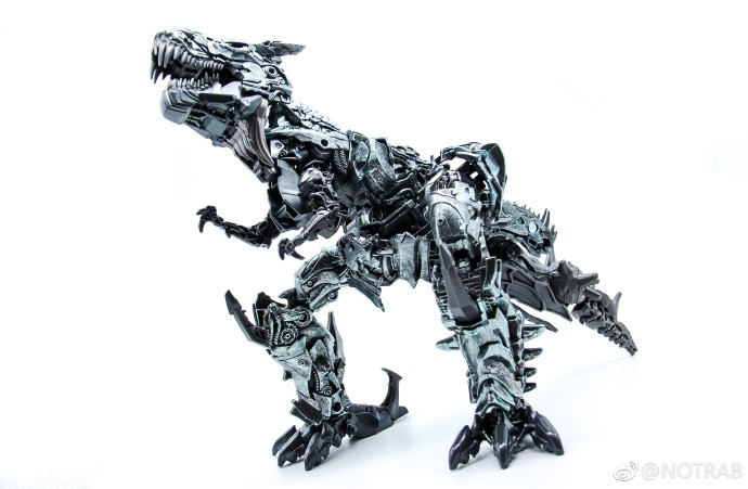 Transformers News: New images of upcoming Leader Class Grimlock from Hasbro's Transformers Studio Series