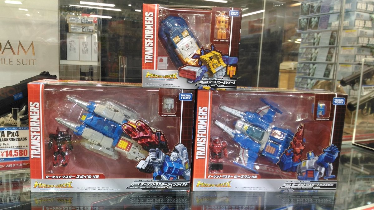 Transformers News: In Hand and In Package Images of Takara Transformers Legends Seaspray, Twin Twist & Topspin
