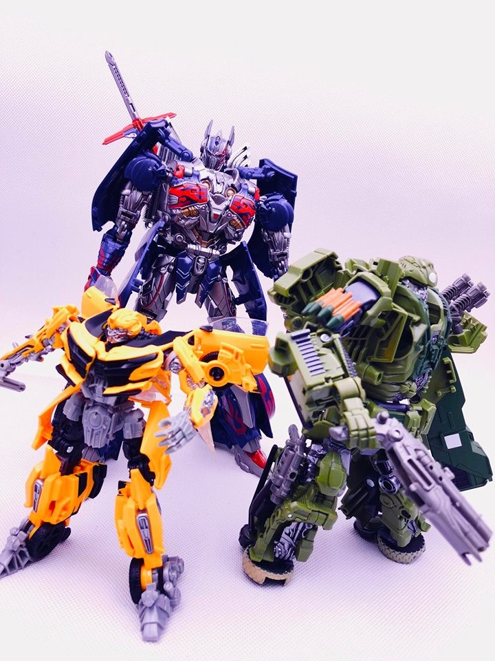 Transformers News: In Hand Images for Takara Movie The Best Nemesis Prime, Hound, War Hammer Bumblebee and More!