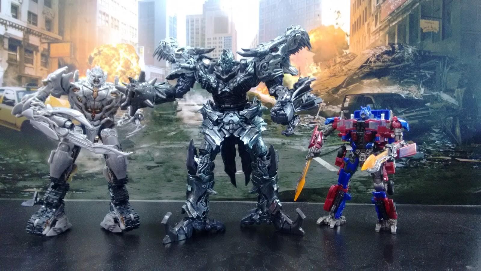 transformers studio series leaders grimlock and blackout