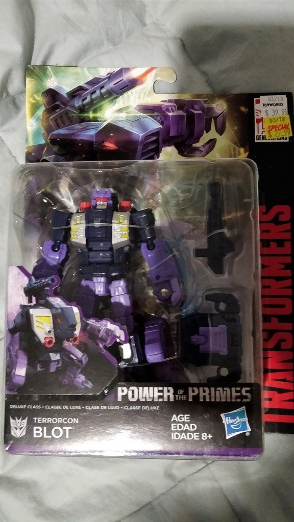 Transformers News: Transformers Power of the Primes Wave 3 Deluxes Found in New Zealand Plus In Hand Pics of Blot