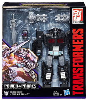 Transformers News: Stock Images for Transformers Power of the Primes Nemesis Prime Reveal New Heads for Both Robots
