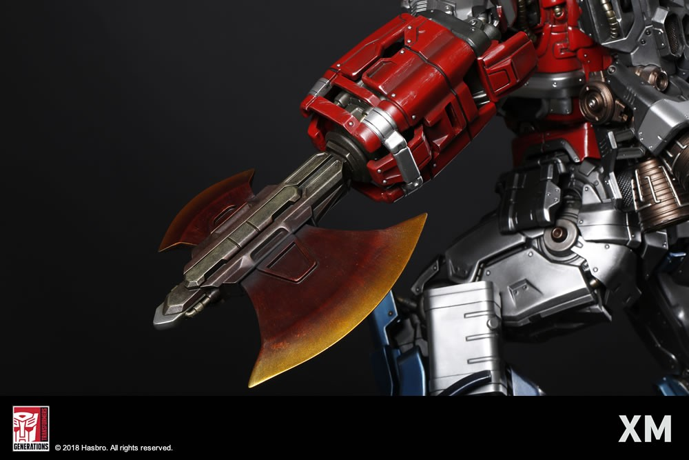 Transformers News: Official Images, Description and Prices for XM Studios Optimus Prime Statue