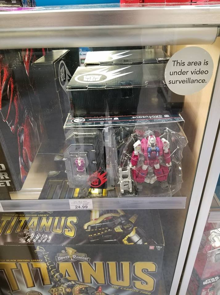 Transformers News: Transformers Power of the Primes Grotusque Found in Toys R Us Stores