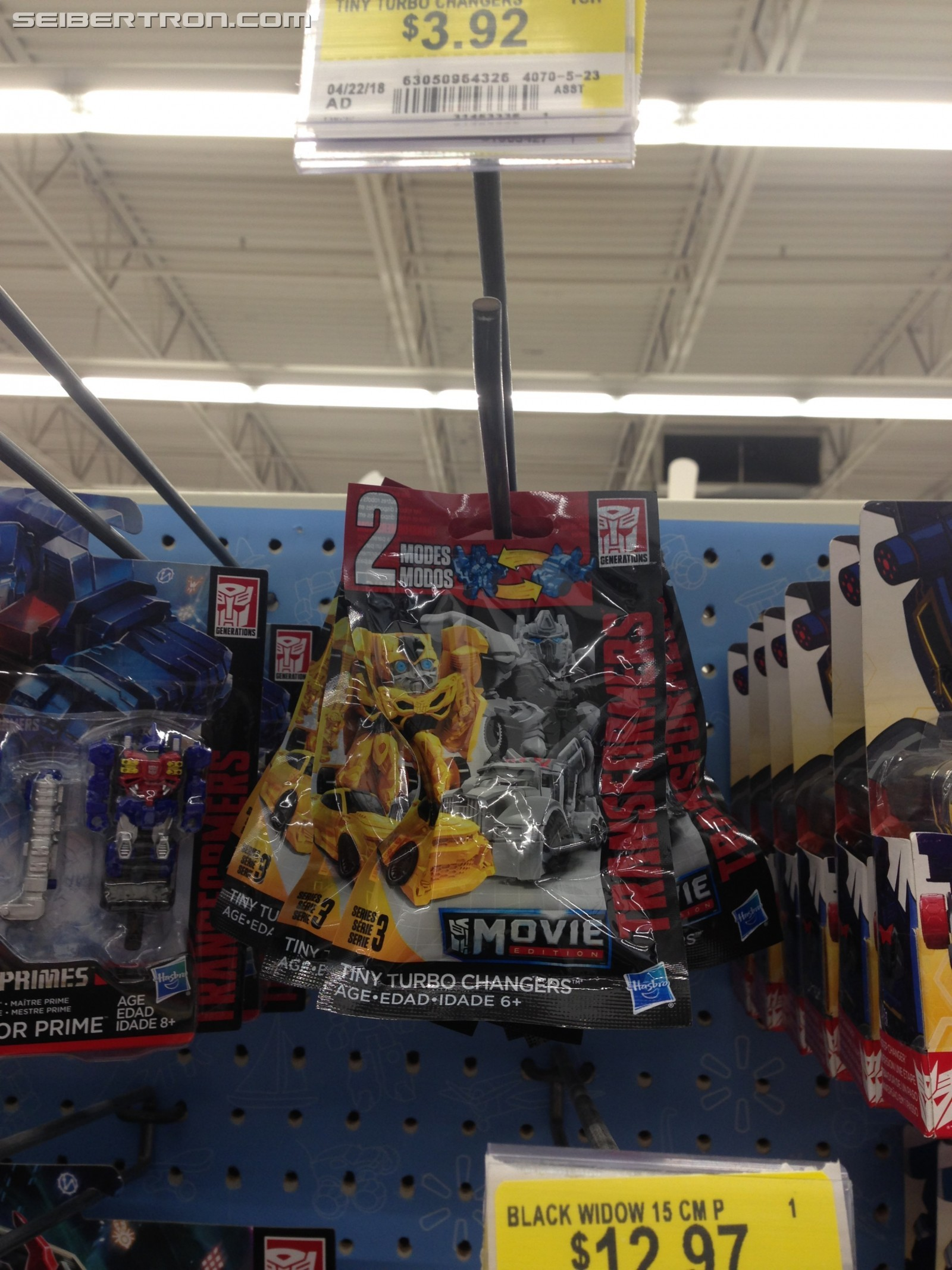 Transformers News: Transformers Tiny Turbo Changers Series 3 Found in Canada