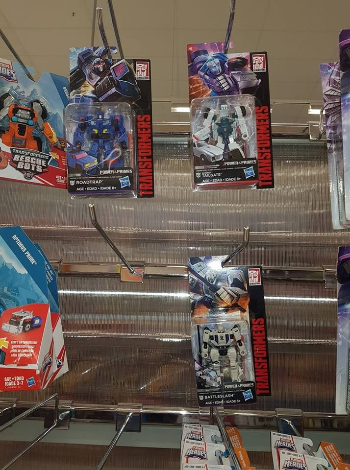 Transformers News: Transformers Power of the Primes Wave 2 Legends Sighted at Australian Retail
