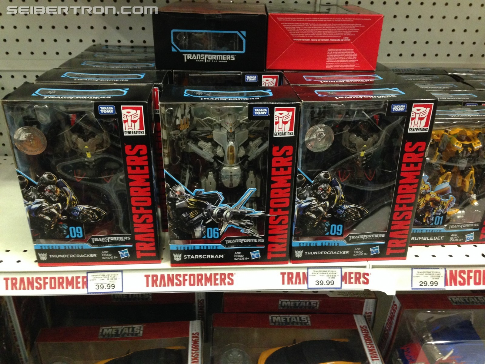 Transformers News: Exclusive Transformers Studio Series Thundercracker Found at Toysrus Canada