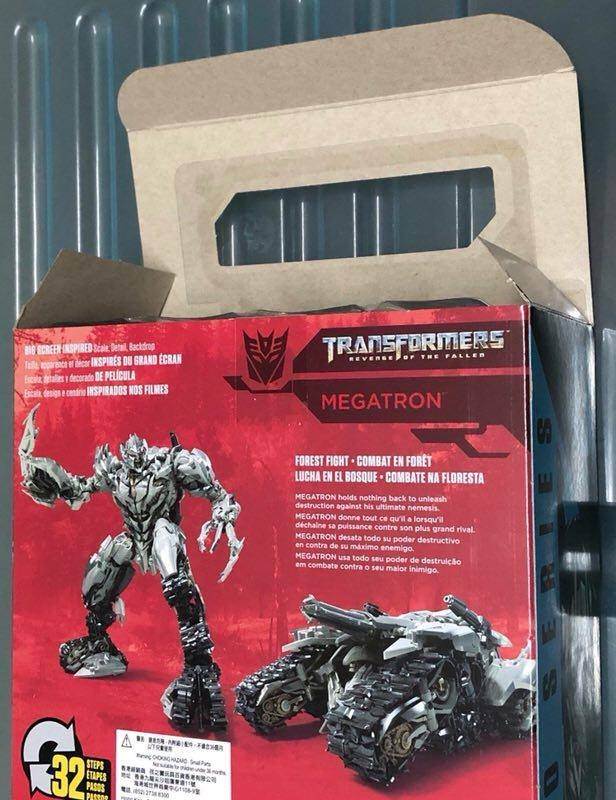 Transformers News: In-Hand Images of Transformers Studio Series Wave 2 Megatron and Brawl