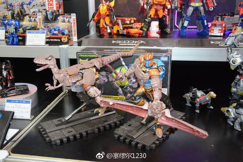 Transformers News: Takara Tomy Transformers Masterpiece MP-41 Dinobot Delayed to August, New Images