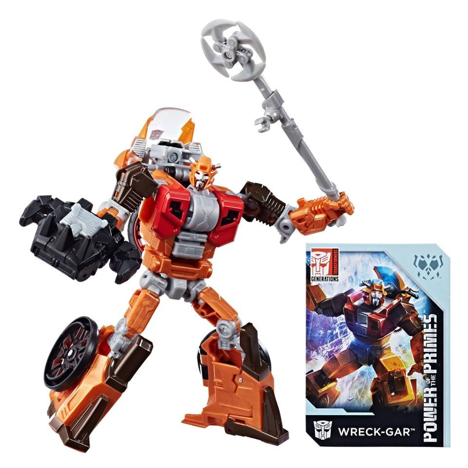 Transformers Hasbro Power of the Primes POTP Deluxe Wreck-Gar NEW In-Hand