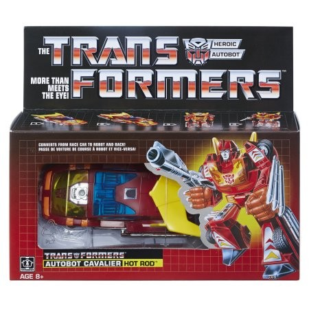 Transformers News: Walmart Exclusive G1 Hot Rod Reissue Confirmed with Stock Images