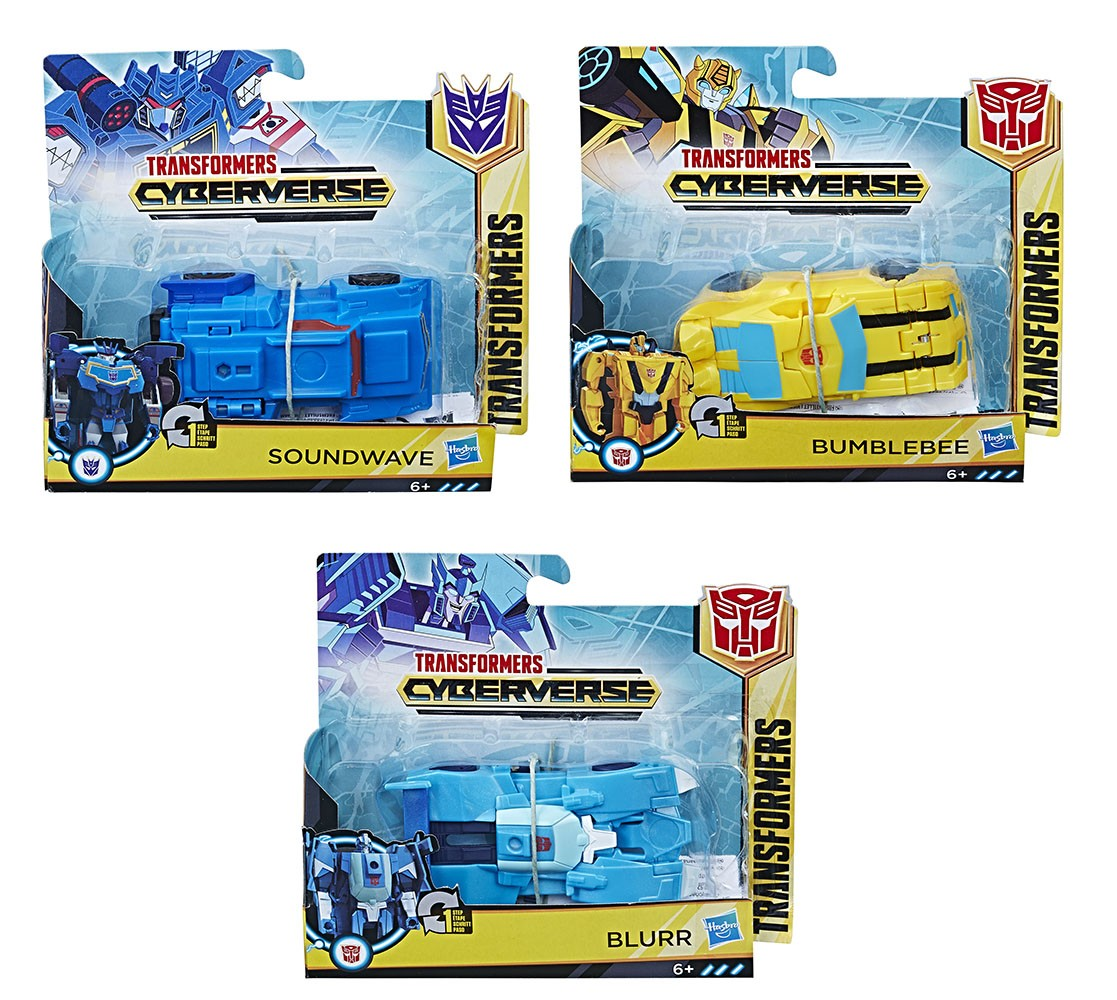 Transformers News: Stock Images of Transformers Cyberverse One Step Changers