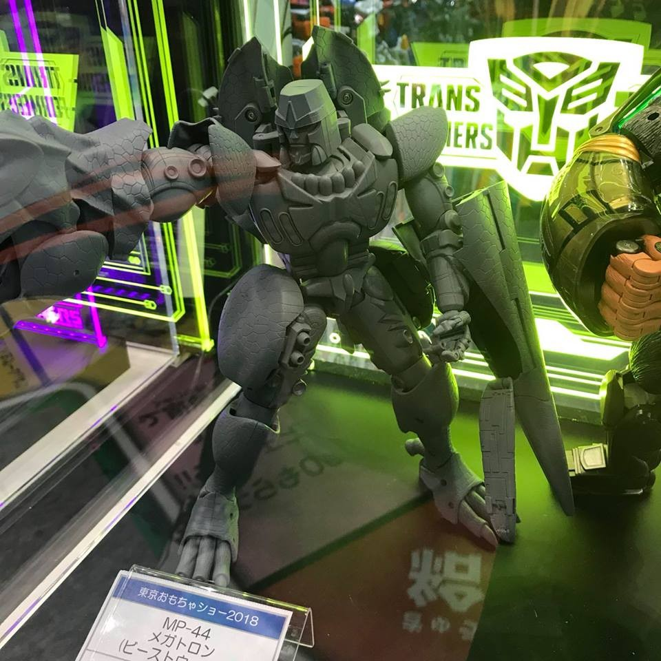 Transformers News: Takara Tomy Masterpiece MP-43 Beast Wars Megatron Prototype On Display at Tokyo Toy Show