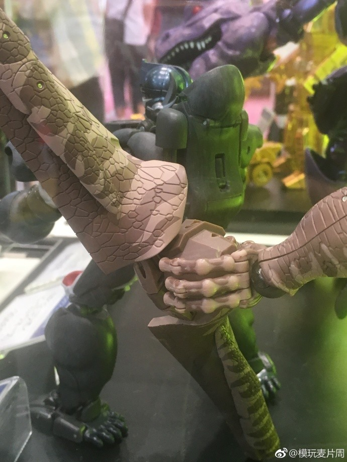 Transformers News: Images of Masterpiece Dinobot from 2018 Tokyo Toy Show