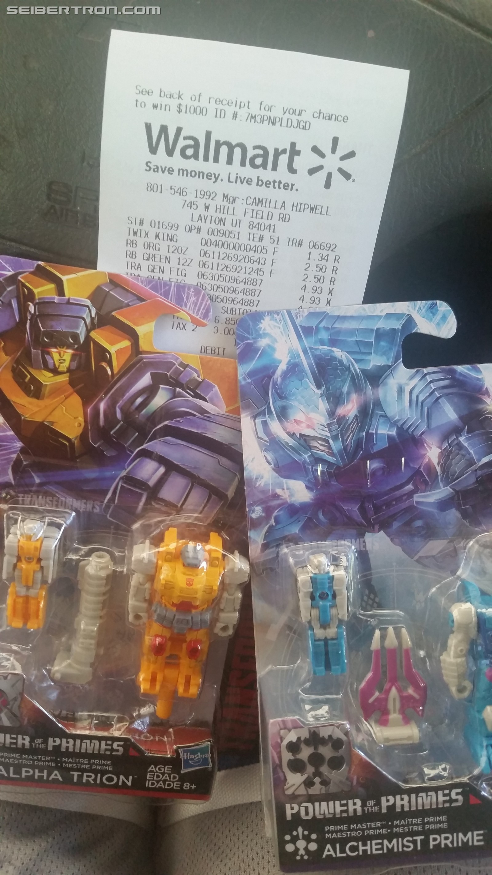 Transformers News: Transformers Power of the Primes Prime Masters Wave 2 Sighted at Retail