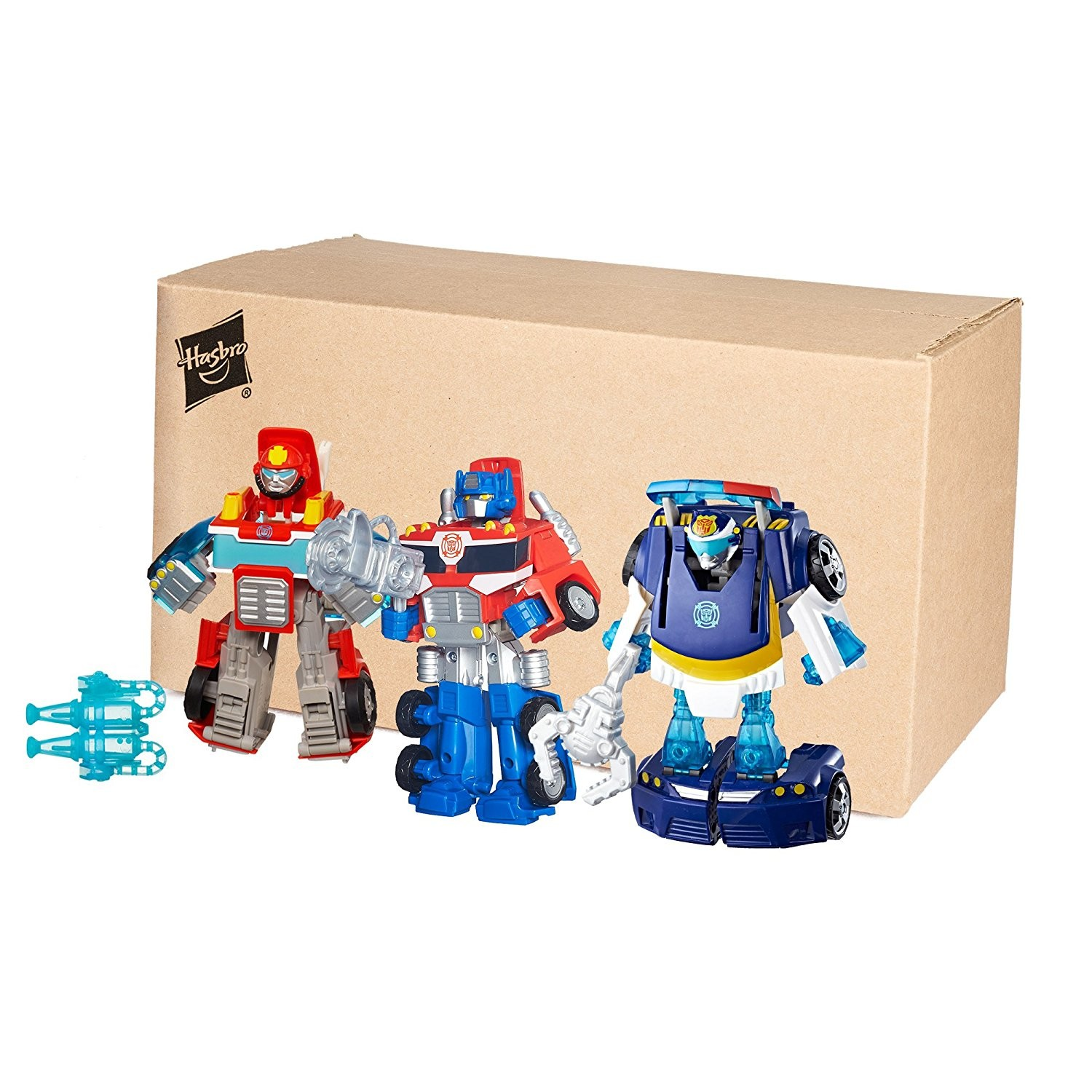 Transformers News: New Rescue Bots 3 Pack Available at Amazon