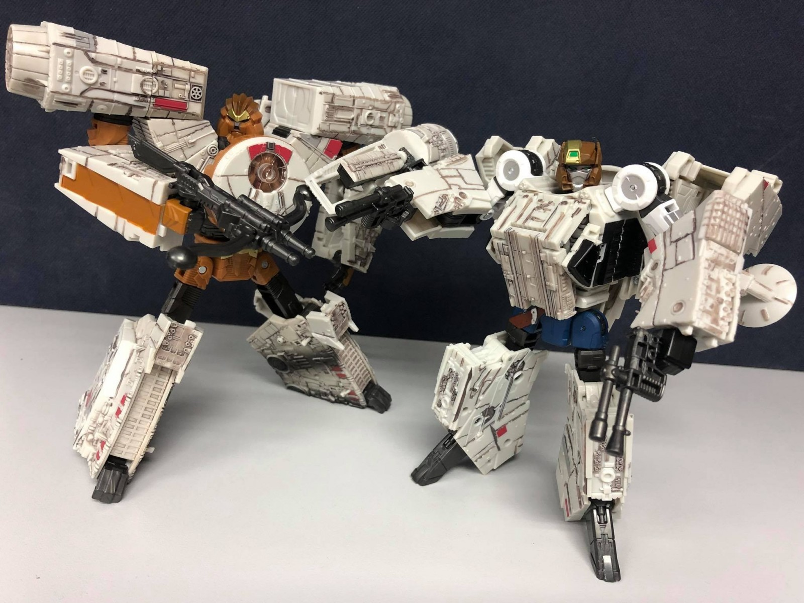 Transformers News: In-Hand Images of Takara Tomy Star Wars Powered By Transformer Millennium Falcon