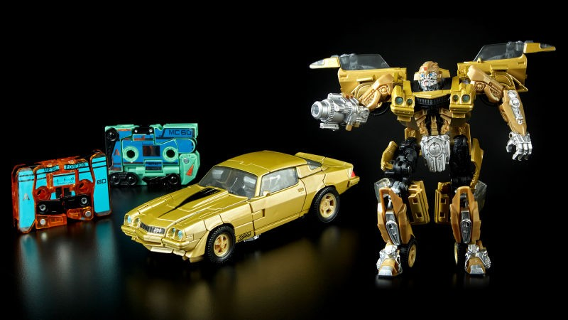 Transformers News: Japan Exclusive G1 Dino Casettes Being Released in the US As Part of Bumblebee Themed SDCC Exclusive