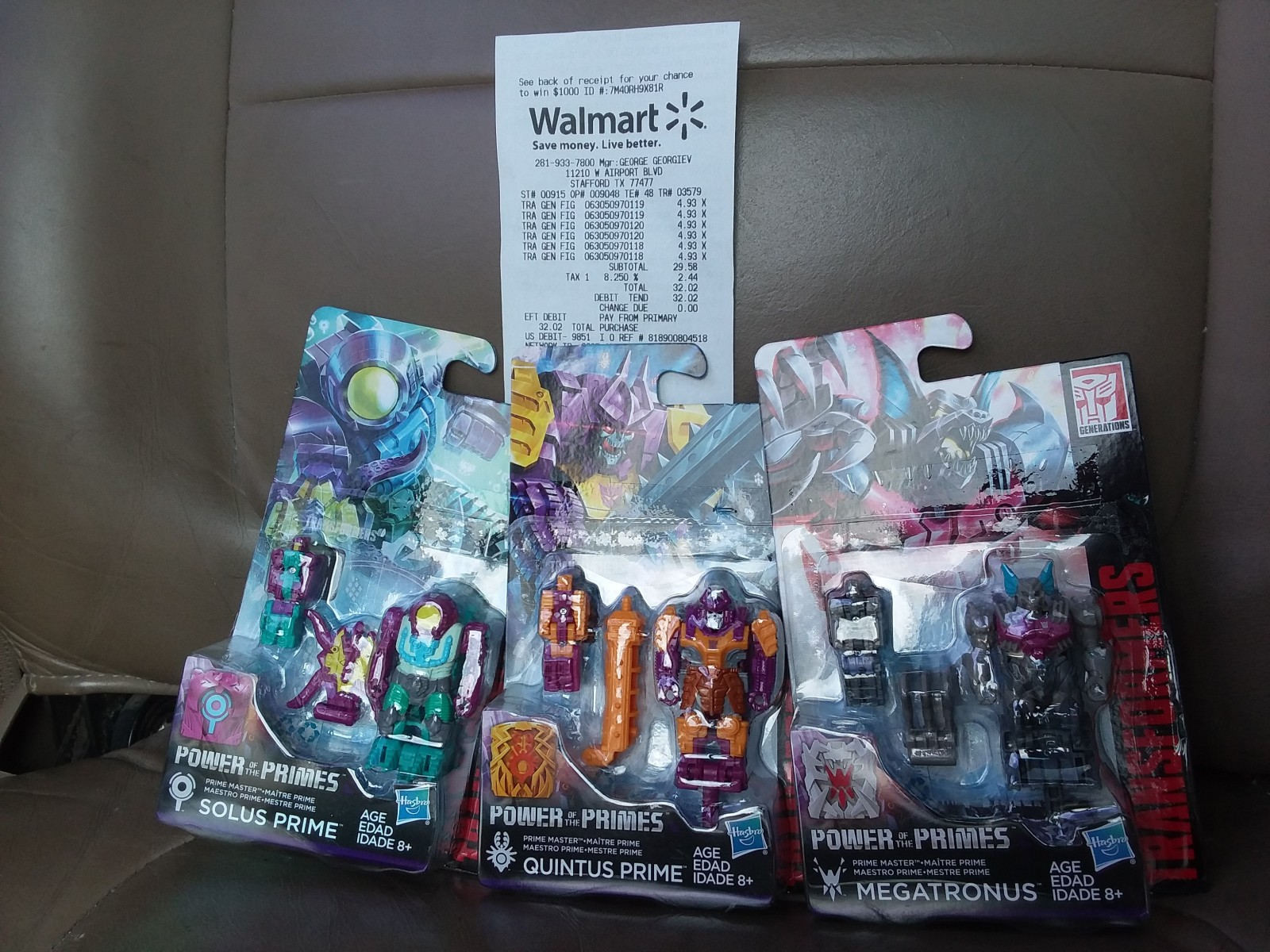 Transformers News: Transformers Power of the Primes Wave 3 Prime Masters Sighted at U.S. retail