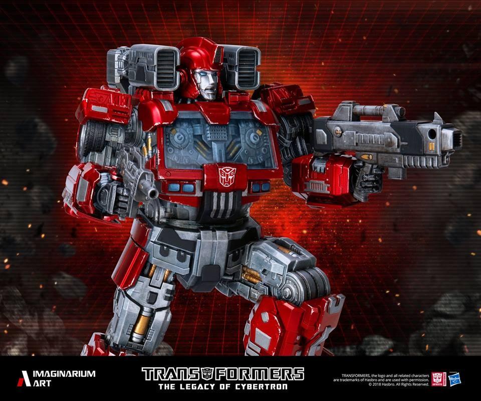 Transformers News: Imaginarium Art Transformers Ironhide Statue Fully Revealed
