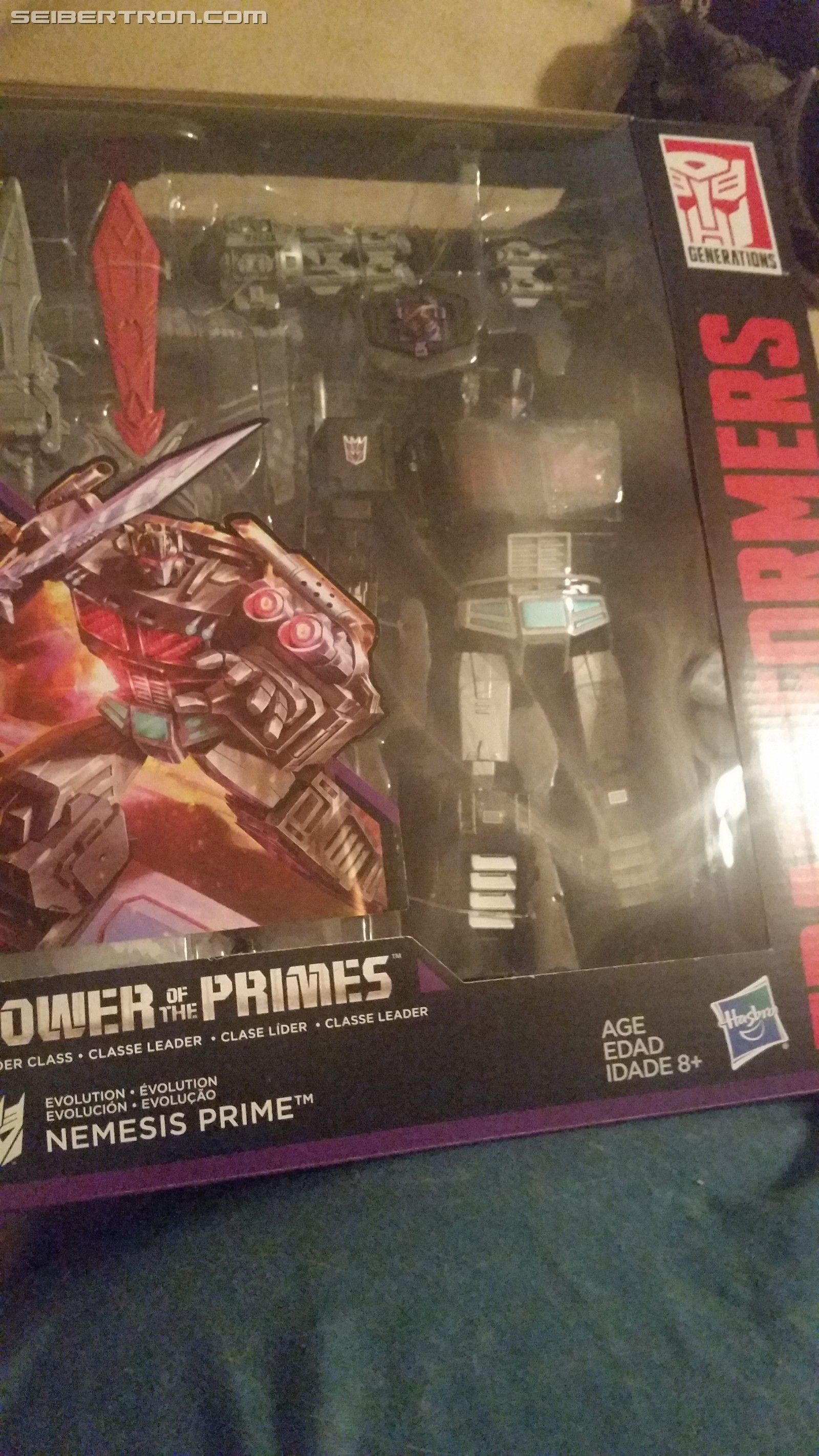 Transformers News: Transformers Power of the Primes Amazon Exclusive Nemesis Prime Now Arriving