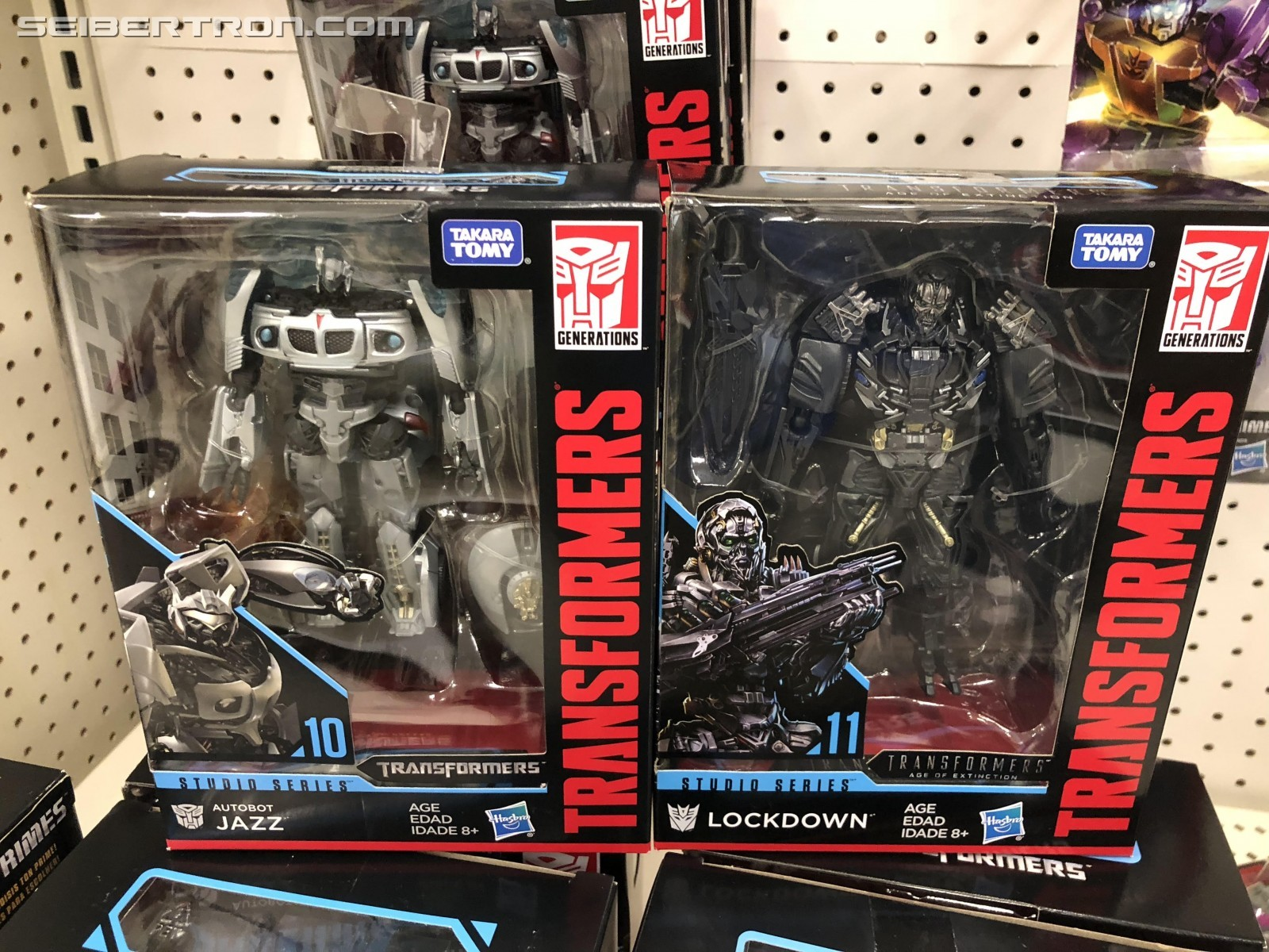 Transformers News: Transformers Studio Series Jazz and Lockdown Appearing at US Retail