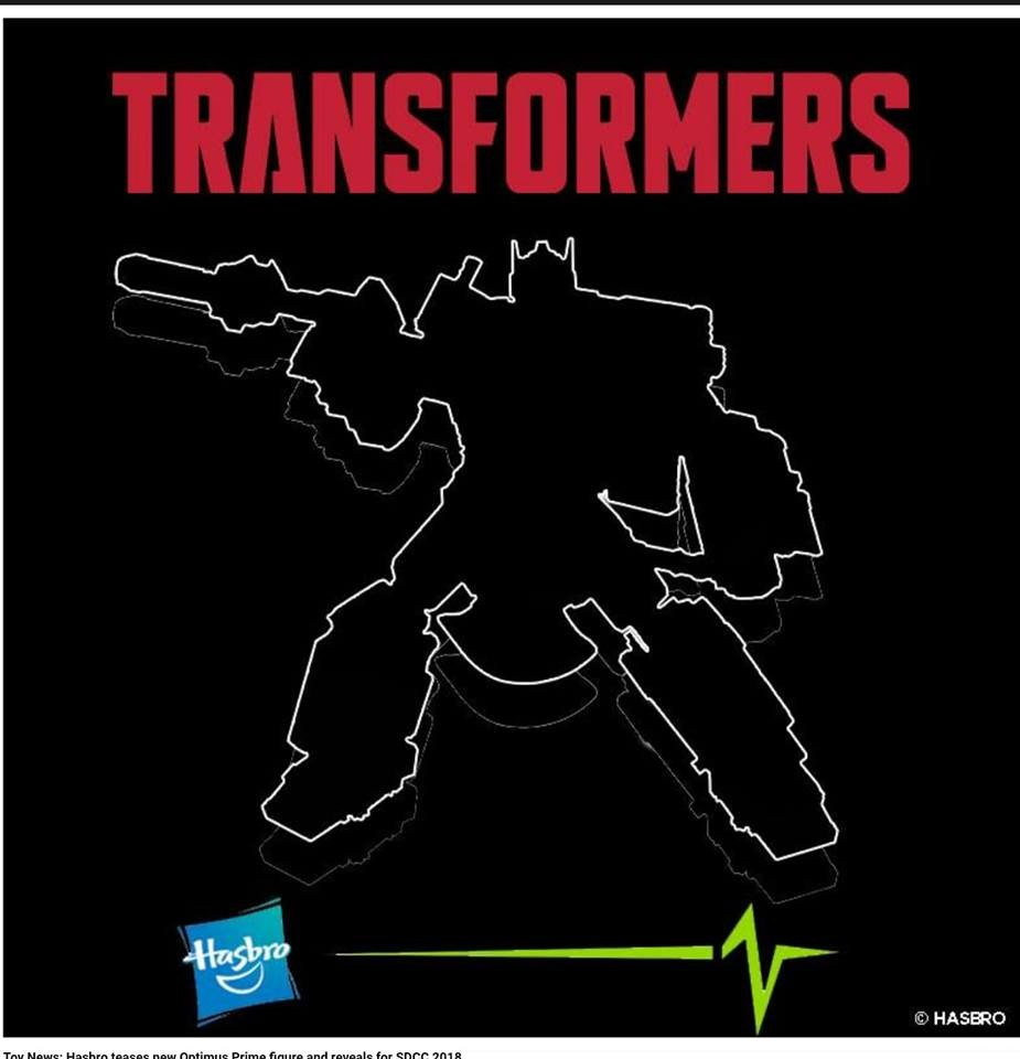 Transformers News: Transformers Silhouette Teaser for San Diego Comic Con 2018 Reveal