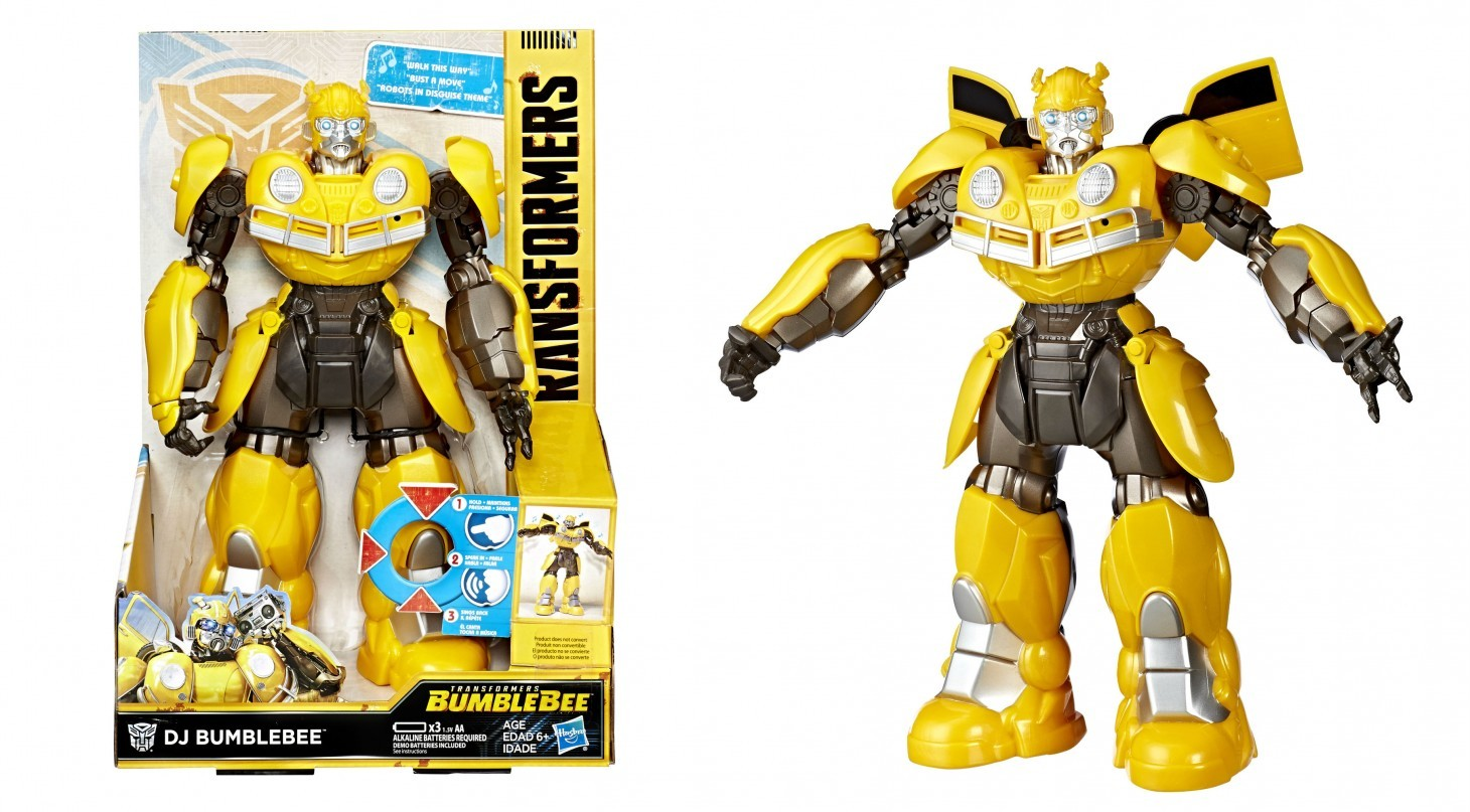 Transformers News: Dancing and Singing Bumblebee Toy