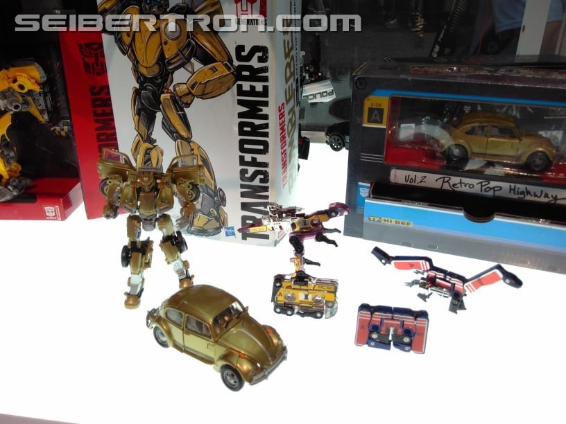 Transformers News: Transformers Studio Series Bumblebee Movie Bumblebee Revealed with Others #HasbroSDCC