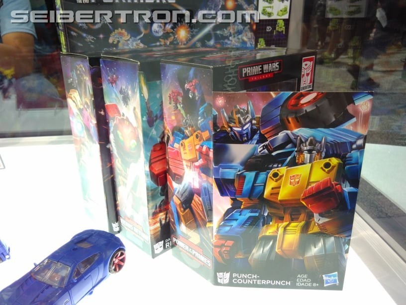 Transformers News: Transformers Power of the Primes Throne of the Primes, Punch/Counterpunch, Nova Star and More at San