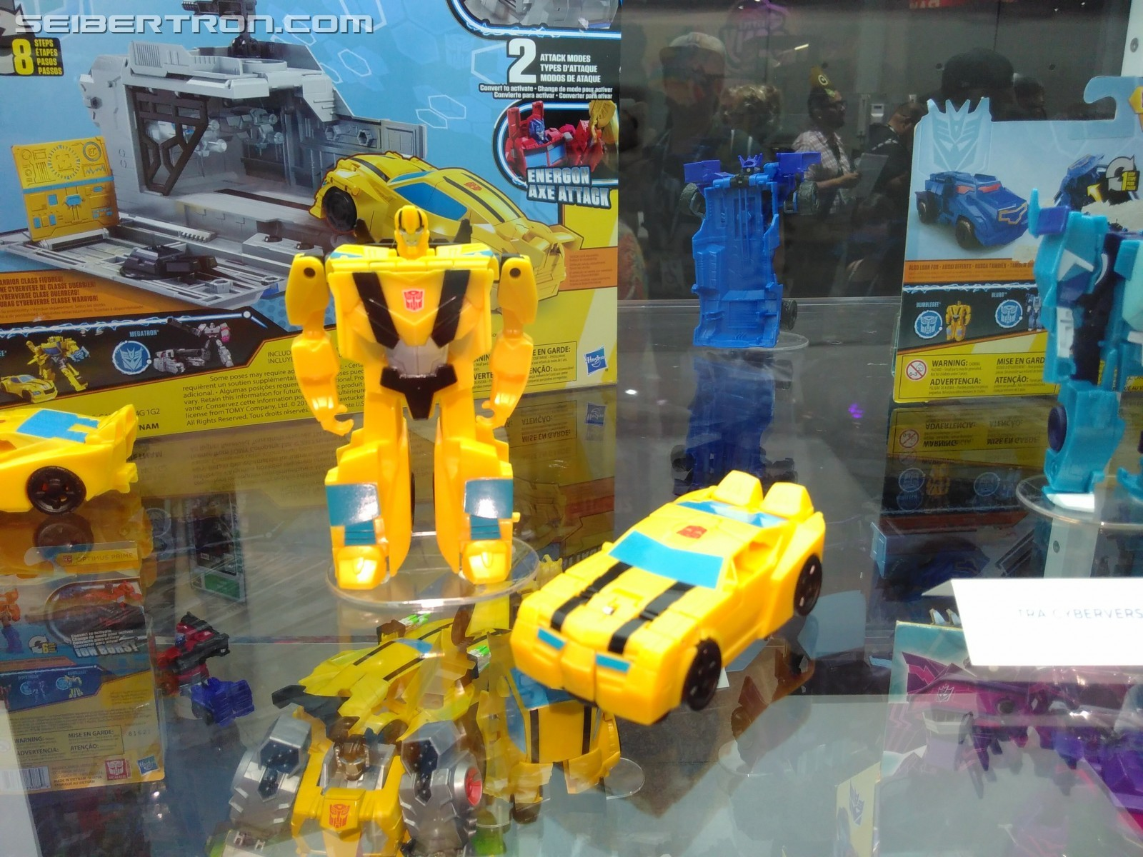 Transformers News: Transformers Cyberverse Warrior Megatron, Shadow Striker, Acid Storm, Windblade and More #HasbroSDCC