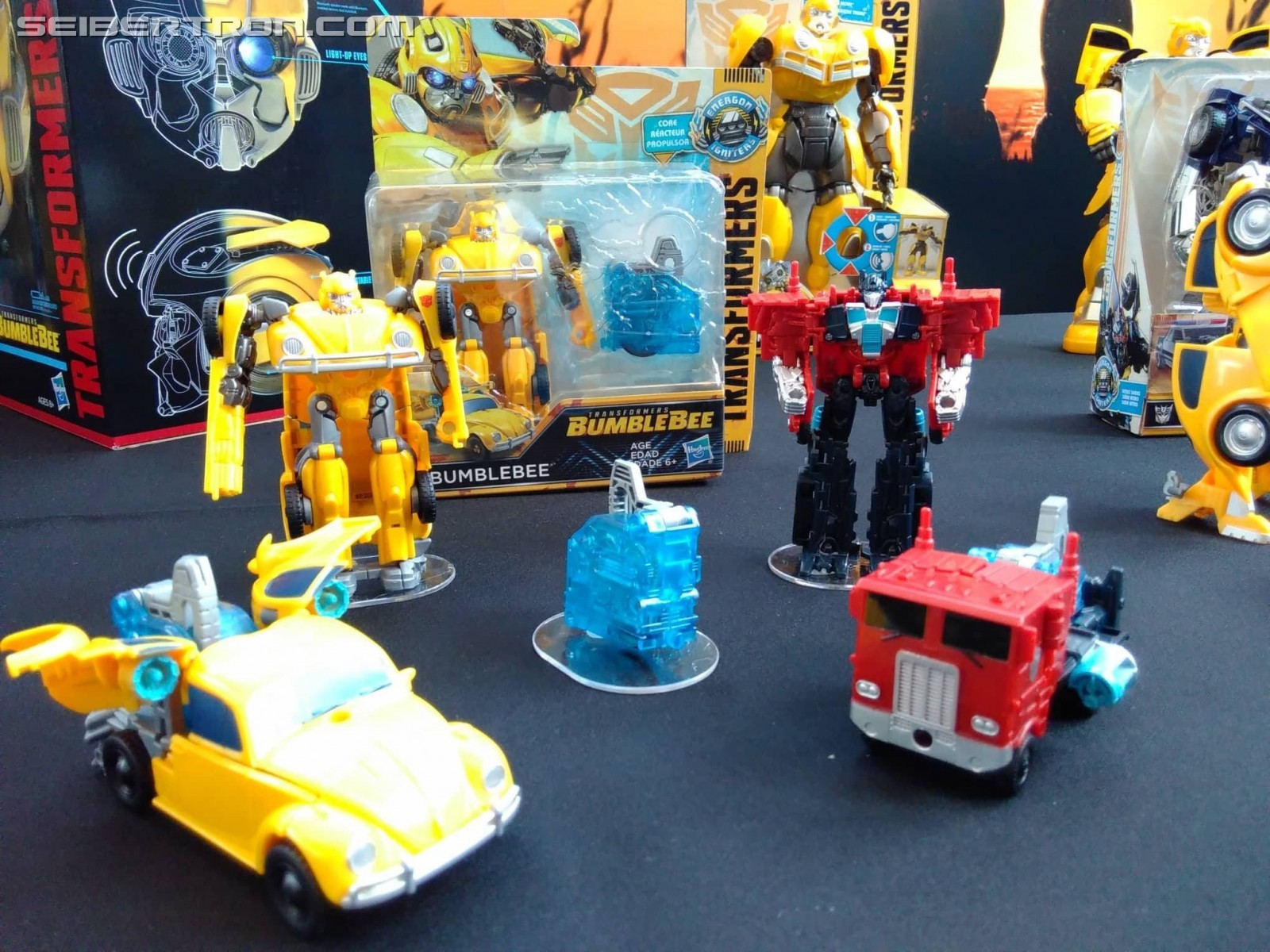 Bumblebe Movie Toys on Display at SDCC 2018 including Target ...