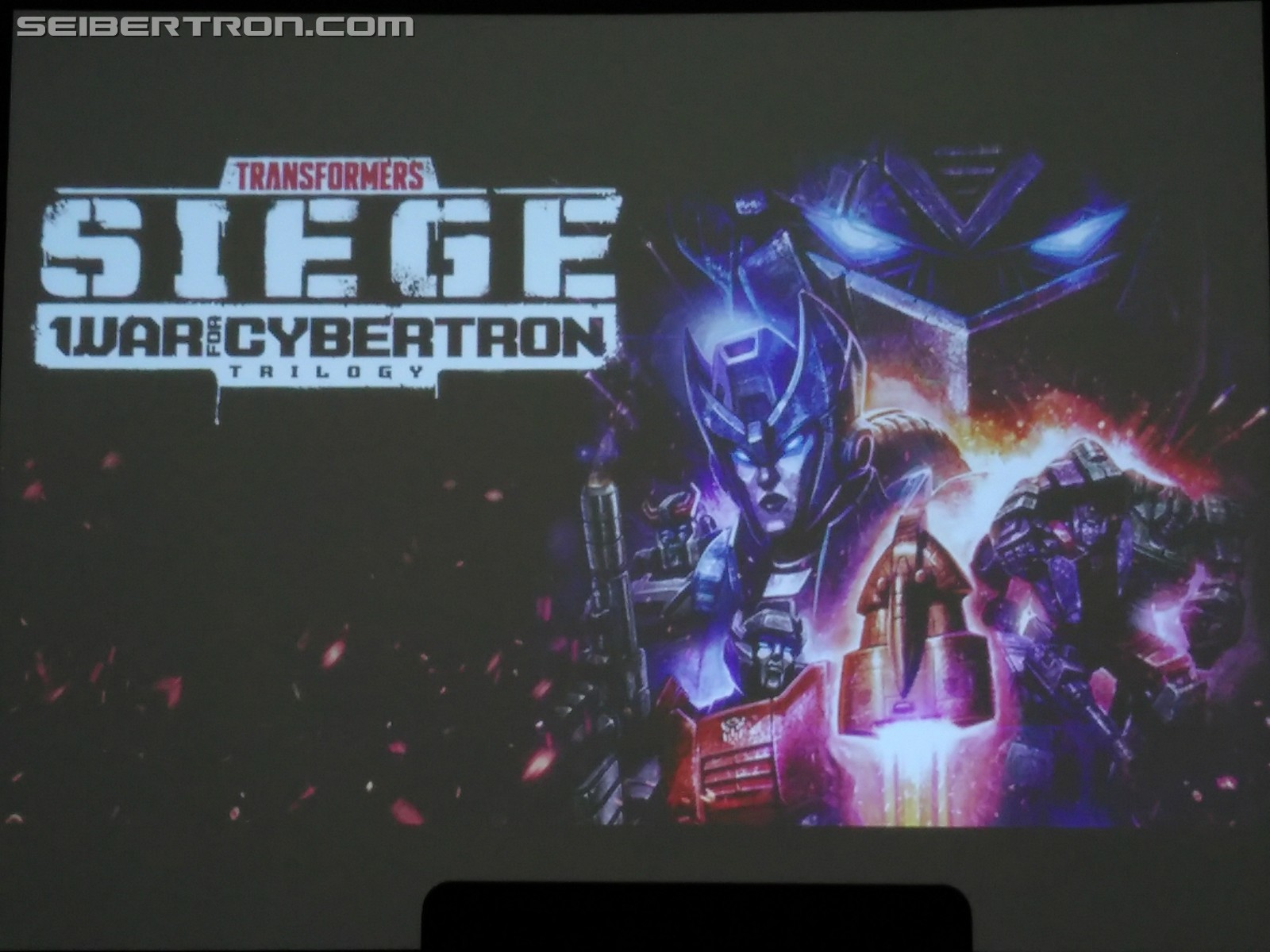 Transformers News: Further Proof of Voyager Megatron and Starscream Coming to the Transformers Seige Line