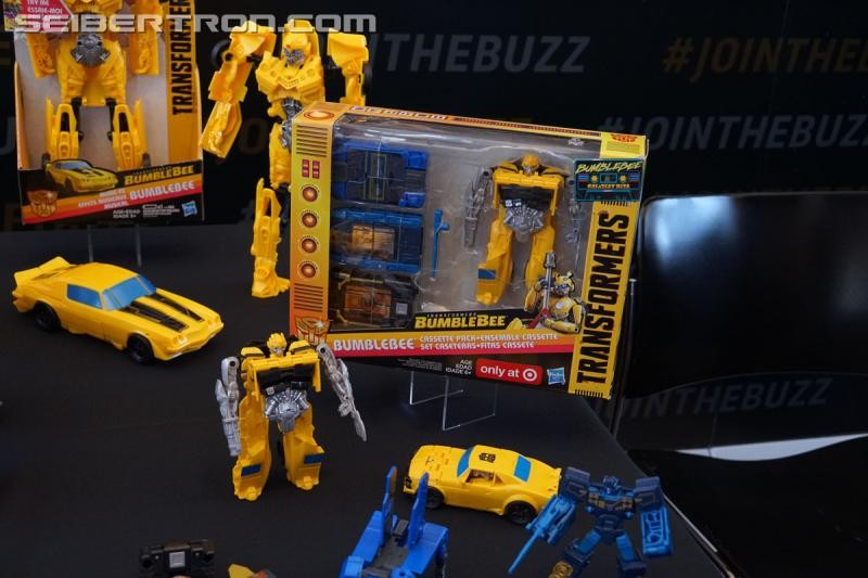 Transformers News: Full High Quality Gallery of Images from the Target Exclusive Bumblebee Movie Cassette Toy Line