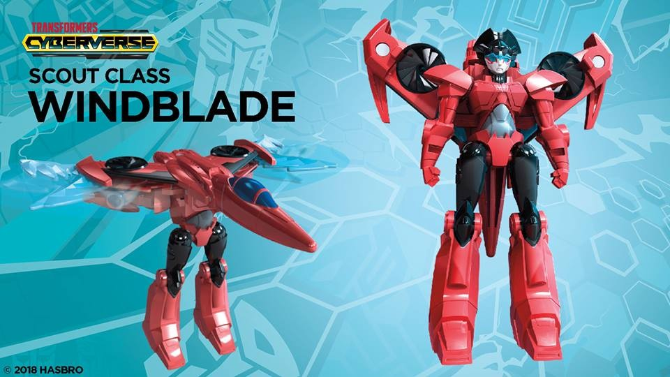 Transformers News: Official Images for Transformers Cyberverse Warrior Windblade, Ultra Shadow Striker and Shockwave