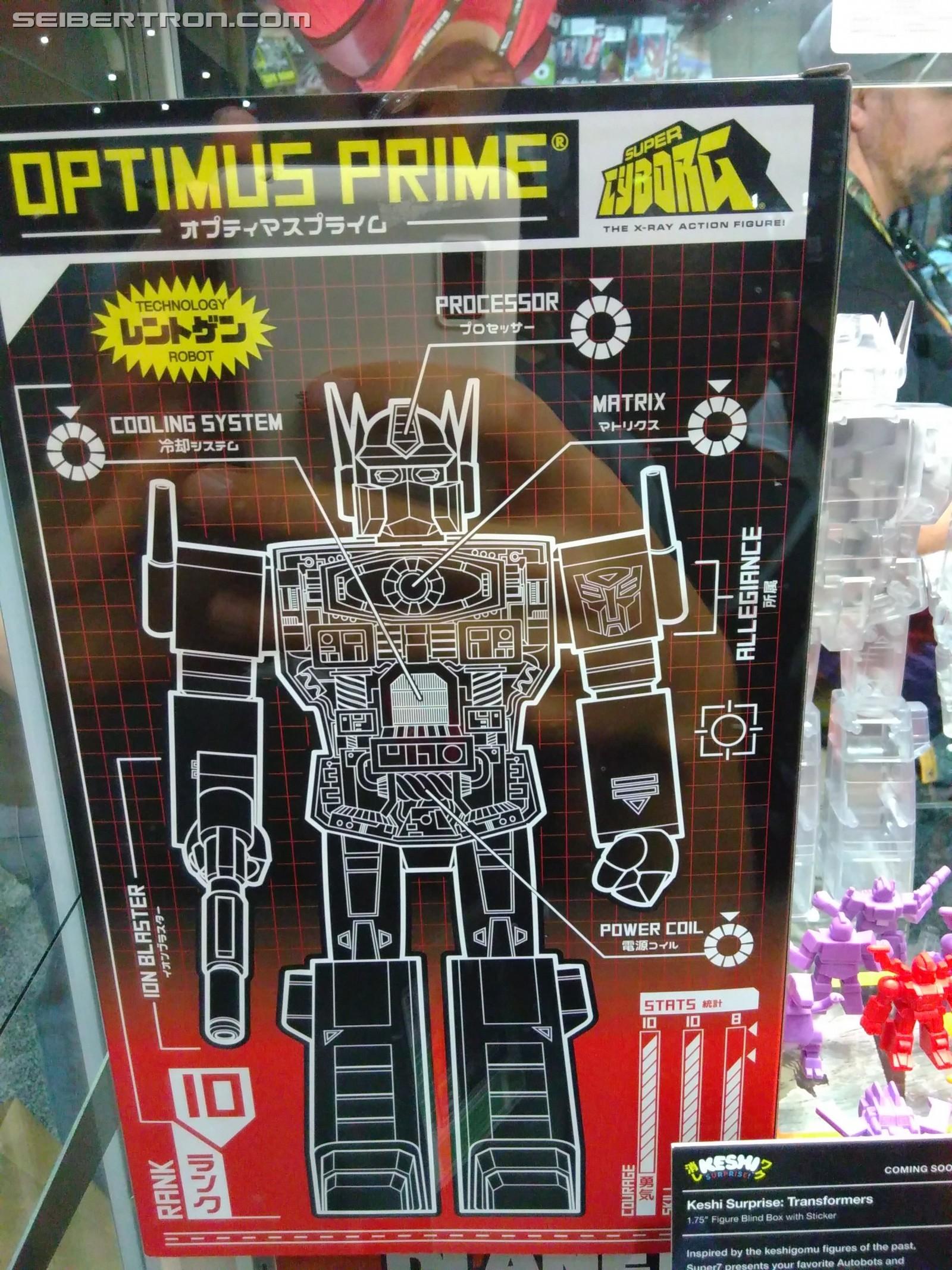 Transformers News: Super7 Licensed Transformers SuperCyborg Optimus and Decoy Minifigures #SDCC2018 #HasbroSDCC