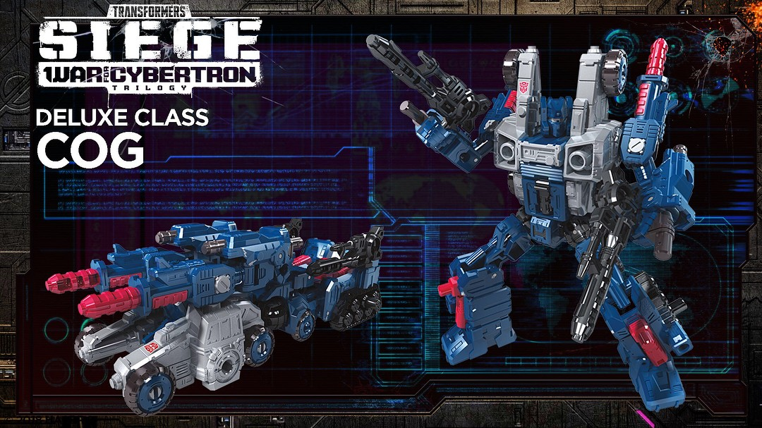 Transformers News: Official Images for Transformers Siege Toyline with Ironhide, COG, Lionizer, Micromasters and More!
