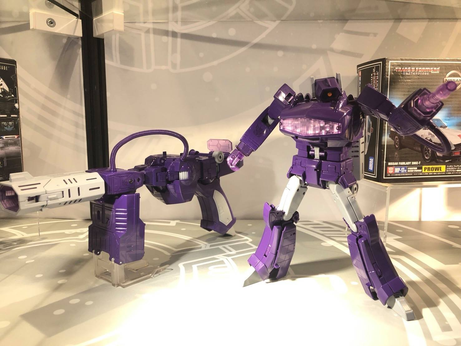 Transformers News: Takara Masterpiece Display at ACG Hong Kong 2018 with Prowl, Shockwave, Shadow Panther, Cordon